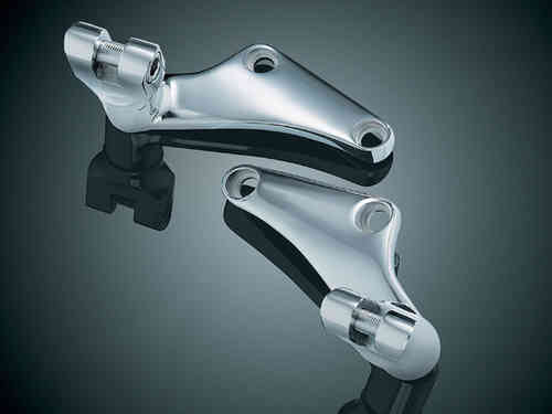 UNDERSEAT PEG MOUNTS for Softail