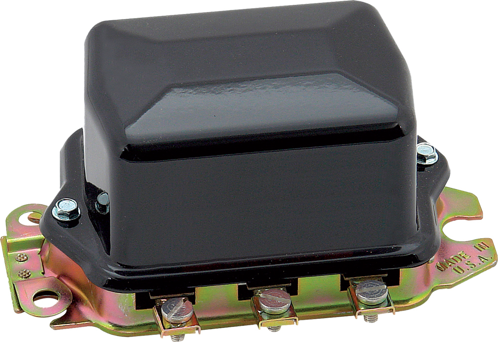 ELECTRO-MECHANICAL VOLTAGE REGULATOR BLACK 12V