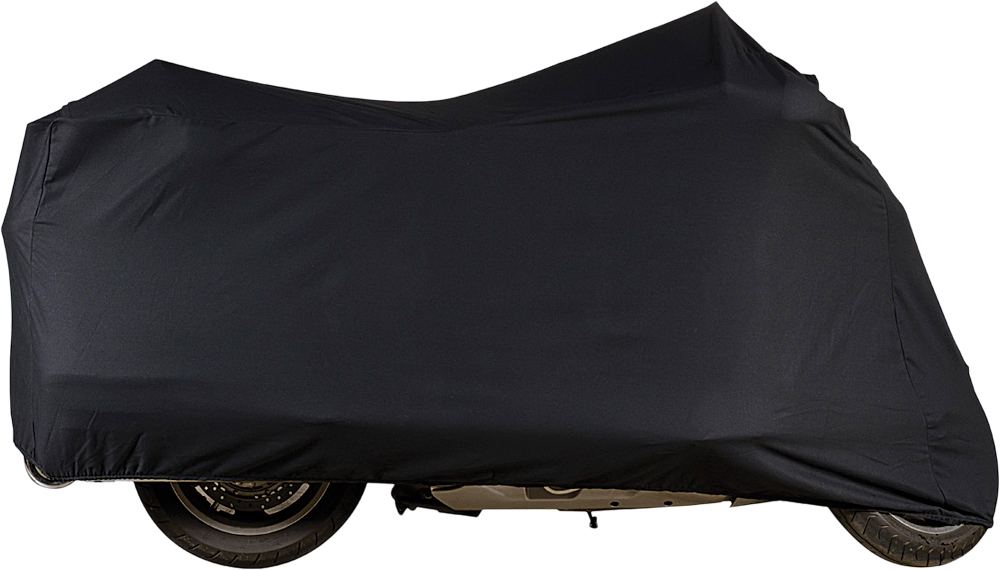 INDOOR COTTON COVER BLACK CHOPPER/CUSTOM UP TO 124