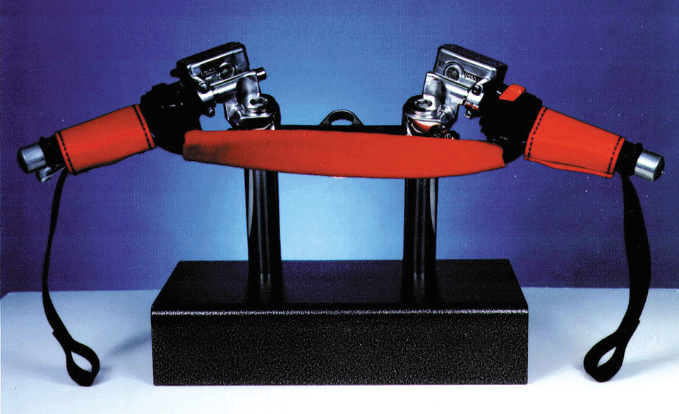 ORIGINAL BAR HARNESS X-WIDE (RED)