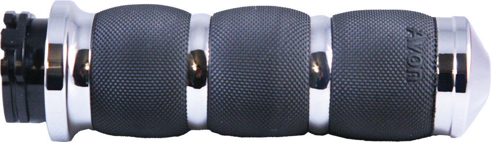 AIR CUSHIONED GRIPS HEATED (CHROME)