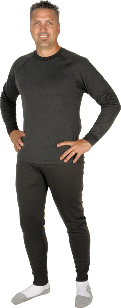 BASE LAYER TOP BLACK L