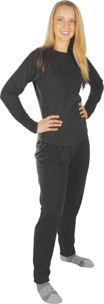 LADIES BASE LAYER BOTTOM BLACK S