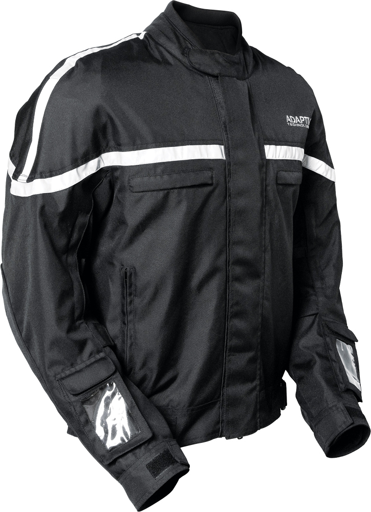 GLOWRIDER JACKET BLACK 2X