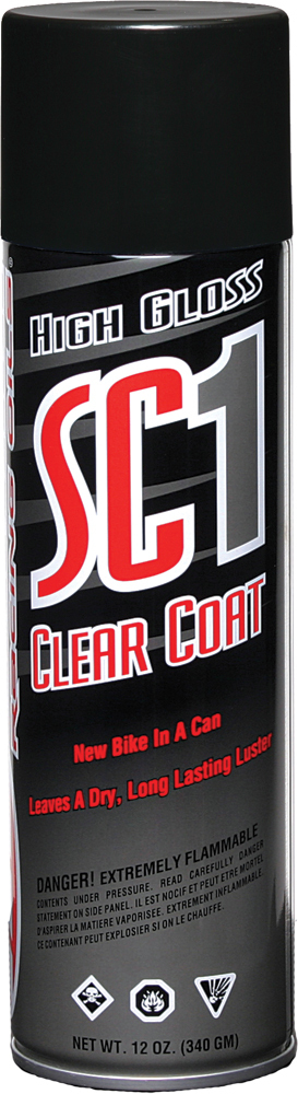 HIGH GLOSS SC1 CLEAR COAT SILICONE SPRAY 12OZ