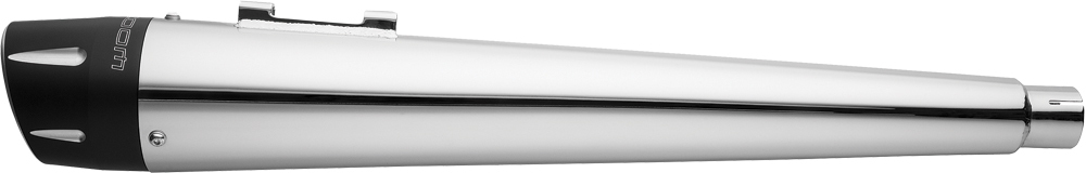 4.5  COMBAT SLIP-ON EXHAUST (CHROME W/BLACK TIP)