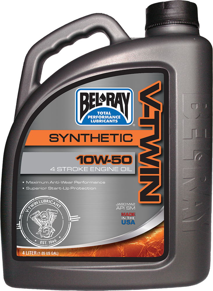 V-TWIN SYNTHETIC ENGINE OIL 10W-50 4L