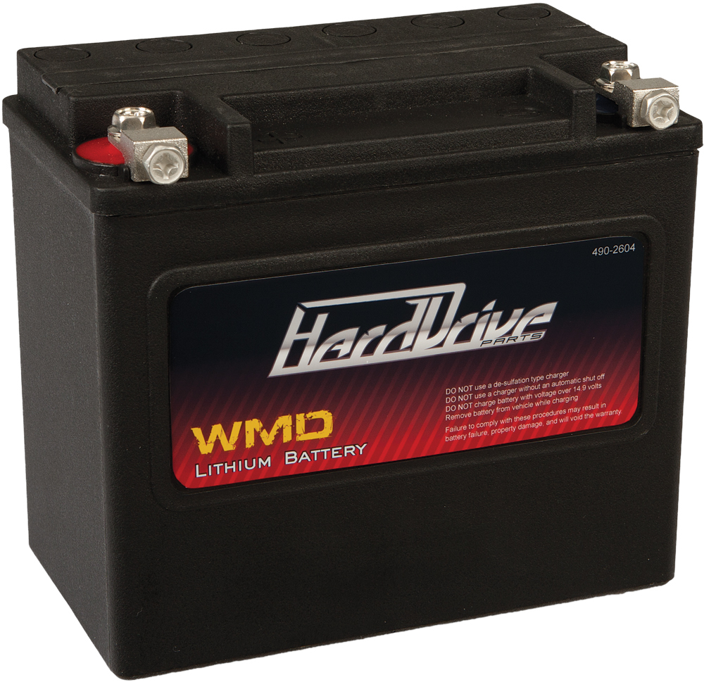 WMD LITHIUM BATTERY 420 CCA HJVT-6-FP