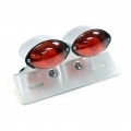 Dual Small Cateye Taillight