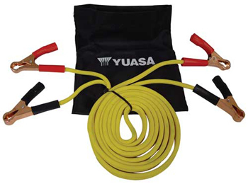 Yuasa Jumper Cables For Motorcycles