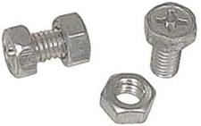 NUT AND BOLT SET FOR BATTERY TERMINALS
