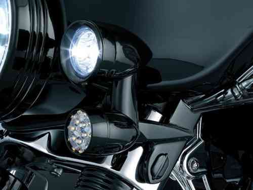 DRIVING LIGHTS FLHX/T/TC BLK