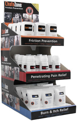 MEDZONE 3-TIER COUNTER DISPLAY