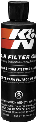 K&N AIR FILTER SQUEEZE OIL