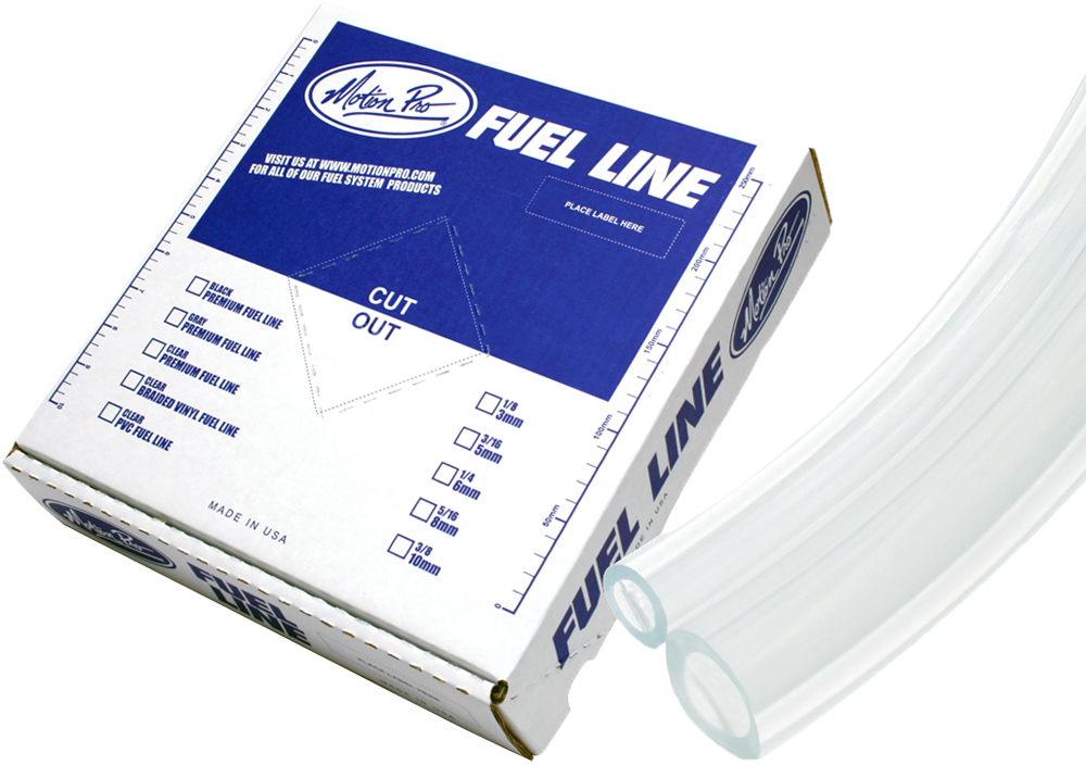 CLEAR VINYL FUEL LINE 3/16