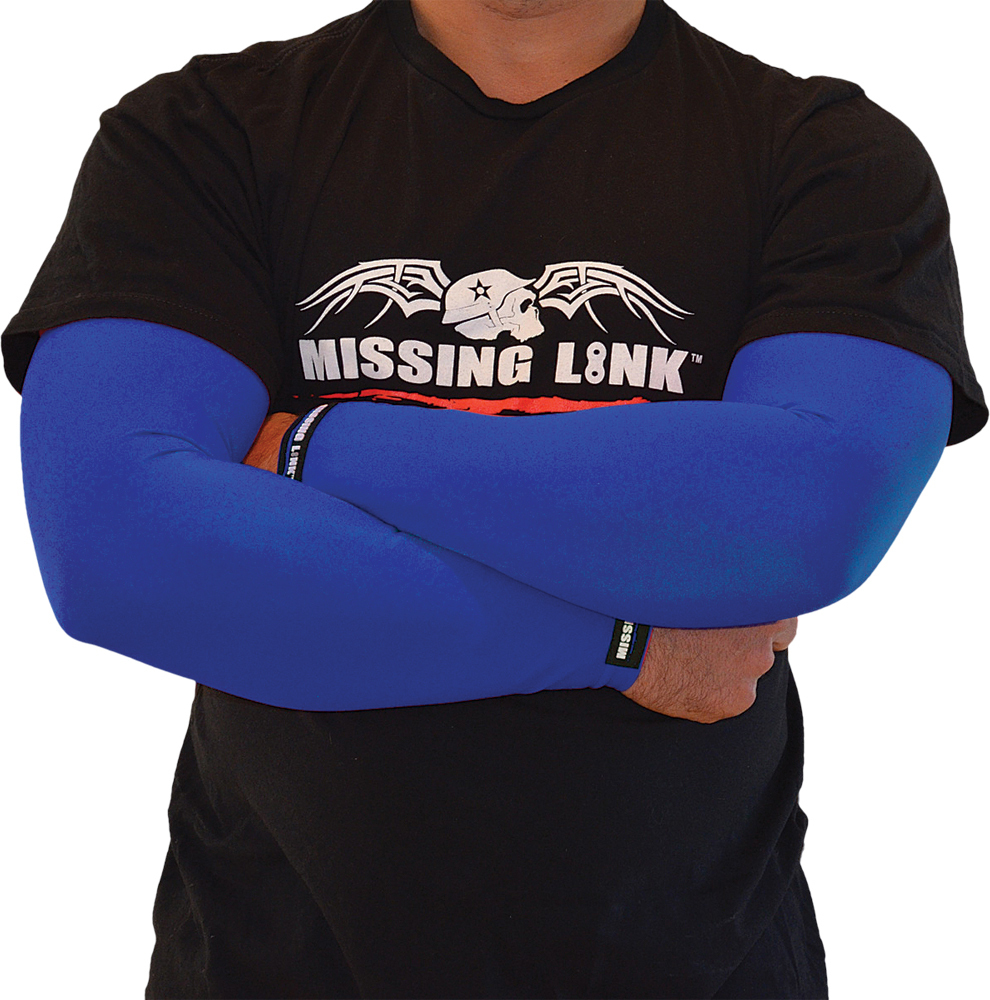 ARMPRO SLEEVES SOLID BLUE XS