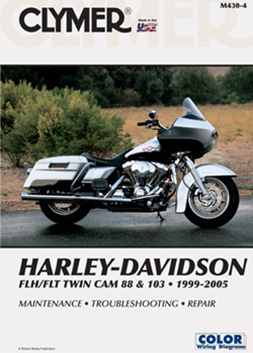 M430 CLYMER HARLEY-DAVIDSON FLH/FLT TWIN CAM 88 AND 103 1999-2005