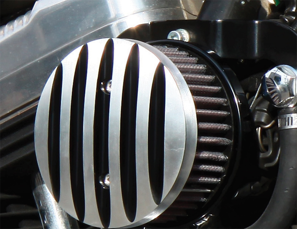 BOSSLEY AIR CLEANER (POLISHED FINS)
