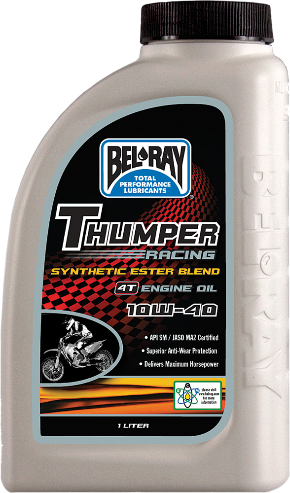 THUMPER SYNTHETIC ESTER BLEND 4T ENGINE OIL 10W-40 LITER
