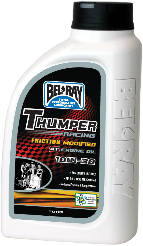 THUMPER FRICTION MODIFIED 4T ENGINE OIL 10W-30 1L