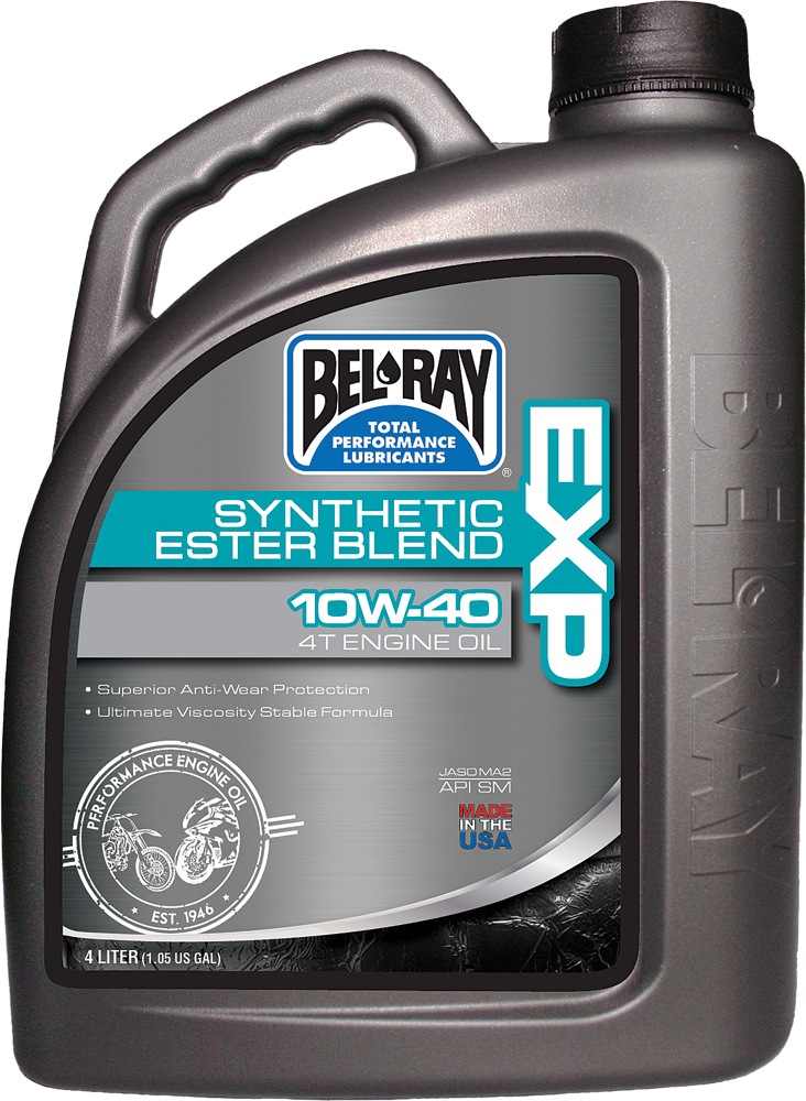 EXP SYNTHETIC ESTER BLEND 4T ENGINE OIL 10W-40 4-LITER