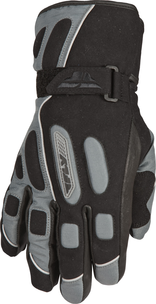 TERRA TREK GLOVE GUN/BLACK 2X