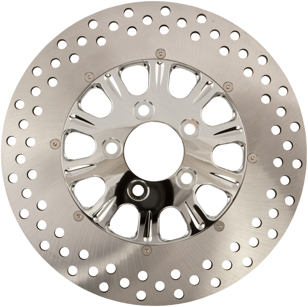 BRAKE ROTOR FRONT LUCK CHROME 11.8  2/PC