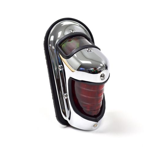Beehive Fender Mounted Taillight Chrome