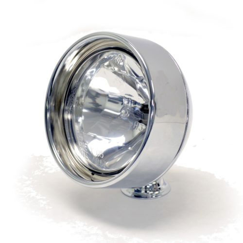"EMGO Spotlight - 3.5"" Frenched Rim Chrome"