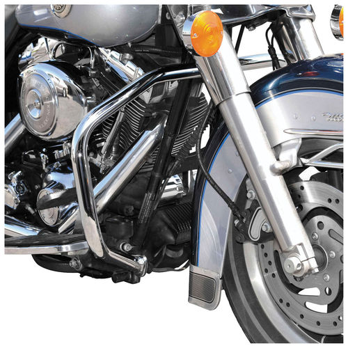 "Biker's Choice 1-1/4"" FXDWG/FXDX/FXDS 1993-2008 Fat Bars Engine Guard Chrome"
